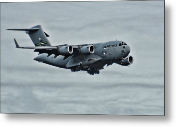 Us Air Force C17 Metal Print