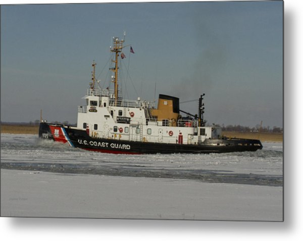 Us Coast Guard Metal Print