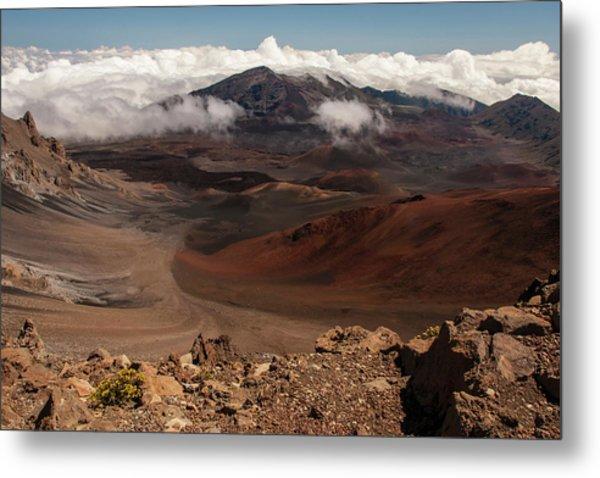 Usa, Hawaii, Maui, Haleakala National Metal Print