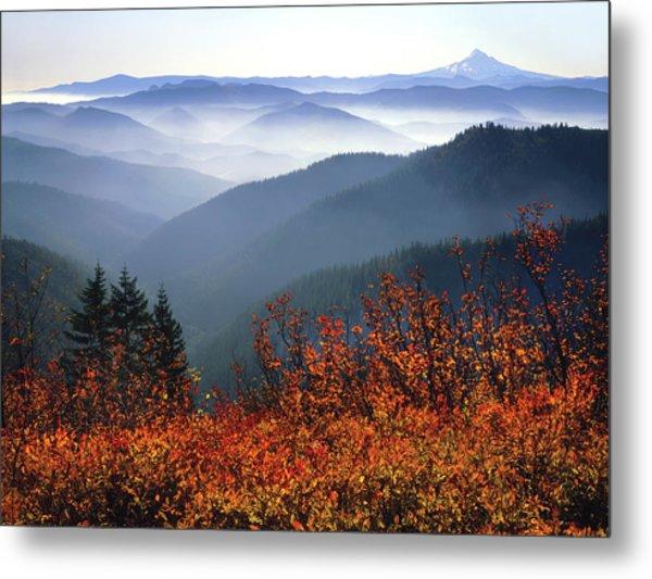 Usa, Washington, Columbia River Gorge Metal Print