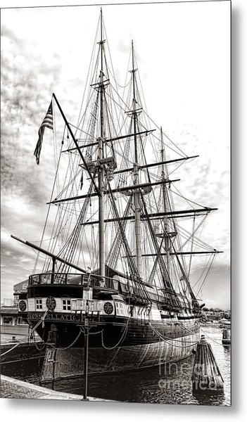 Uss Constellation Metal Print