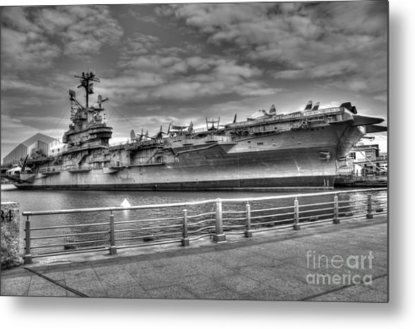 Uss Intrepid Metal Print