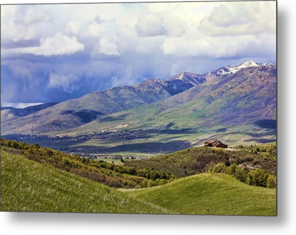 Utah Metal Print by Lisa Alex