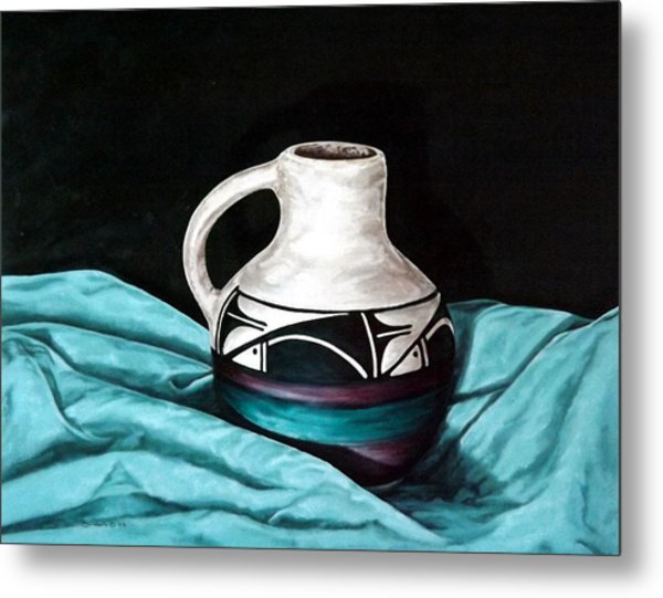 Ute Mnt Pottery Metal Print