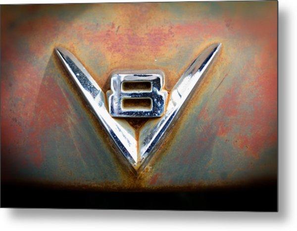 V8 Ford Metal Print