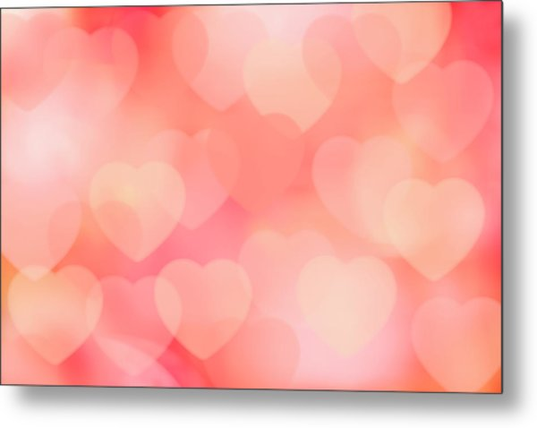 Valentine Background Metal Print by Tetra Images