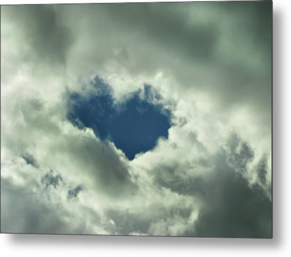 Valentine's Day - Heart Shape Metal Print