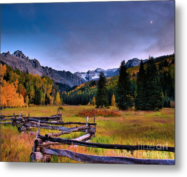 Valley Of Mt Sneffels Metal Print