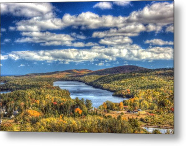 Valley Of The Clouds Metal Print