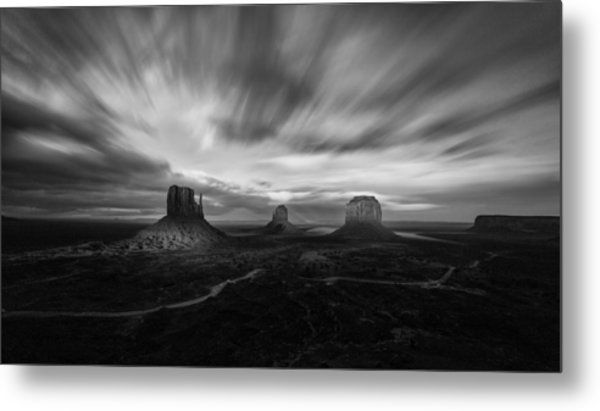 Valley Of Time Metal Print