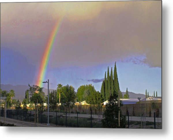 Valley Rainbow 3 Metal Print