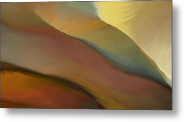 Valley Tuscany  Metal Print
