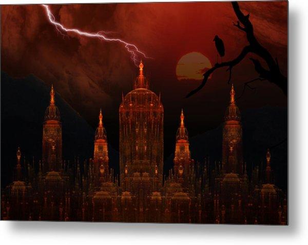 Vampire Palace Metal Print