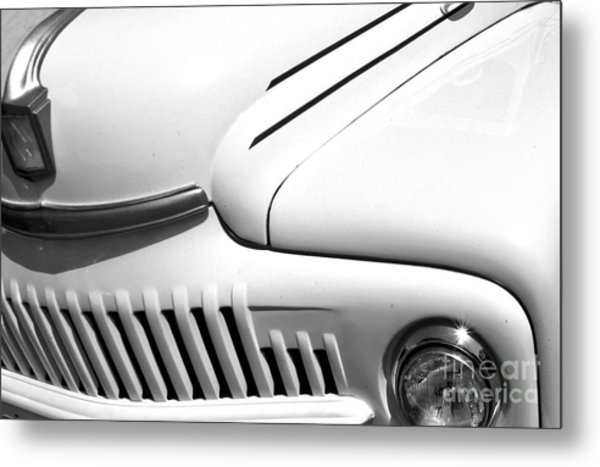 Metal Print featuring the photograph Van Abstract by Mae Wertz