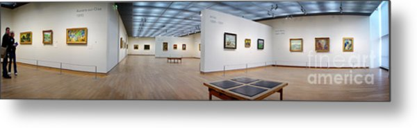Van Gogh Museum Metal Print