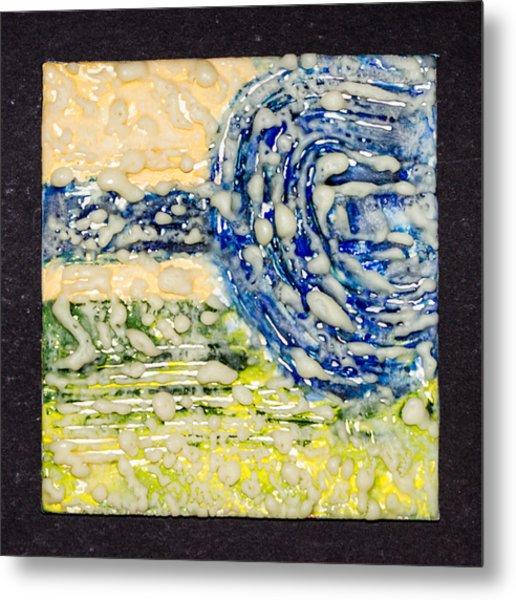 Van Gogh Sky Metal Print