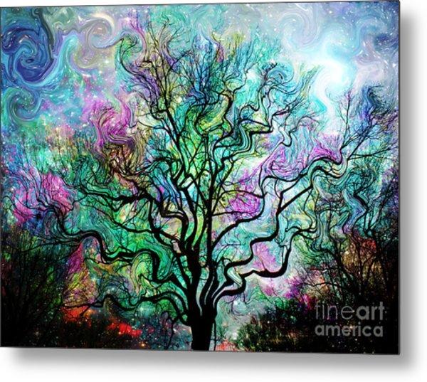 Van Gogh's Aurora Borealis Metal Print
