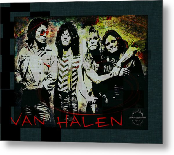 Van Halen - Ain't Talkin' 'bout Love Metal Print