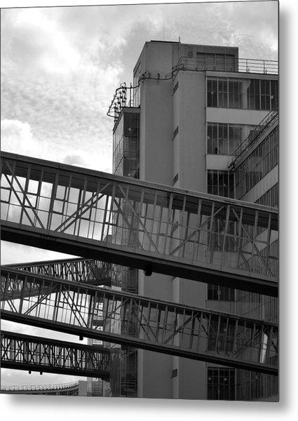 Van Nelle Factory Bw II Metal Print by Eric Keesen
