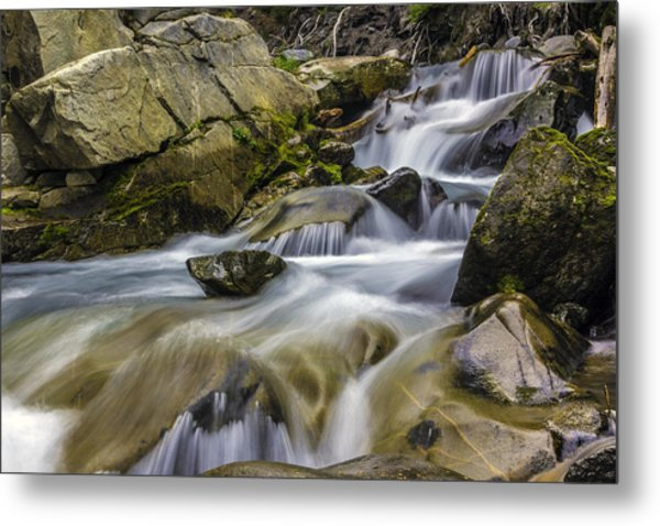 Van Trump Creek Mount Rainier National Park Metal Print