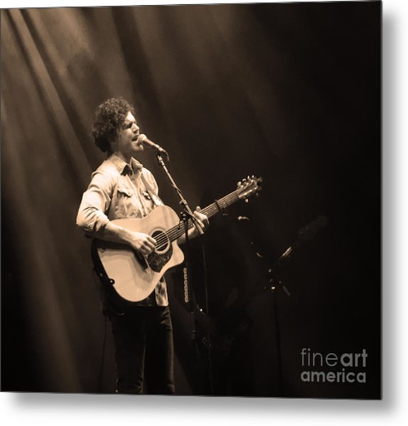 Vance Joy - Denver Metal Print