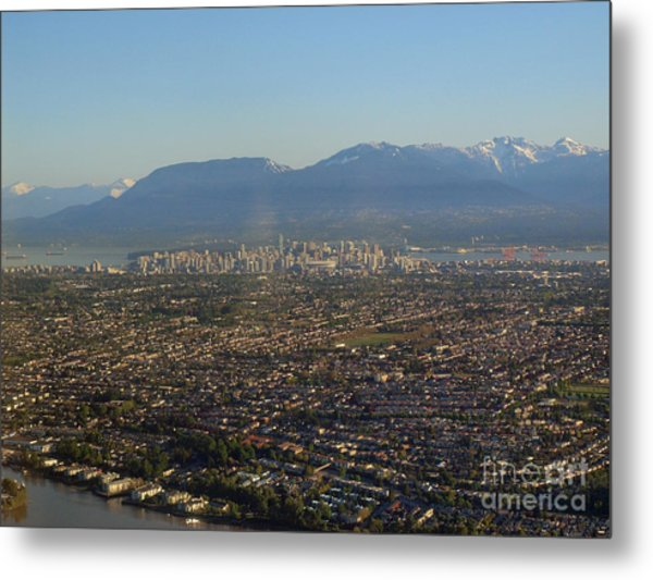 Vancouver At A Glance Metal Print