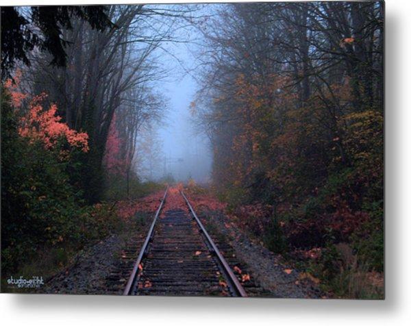 Vanishing Autumn Metal Print by Sarai Rachel