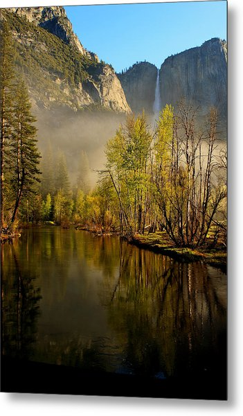 Vanishing Mist Metal Print