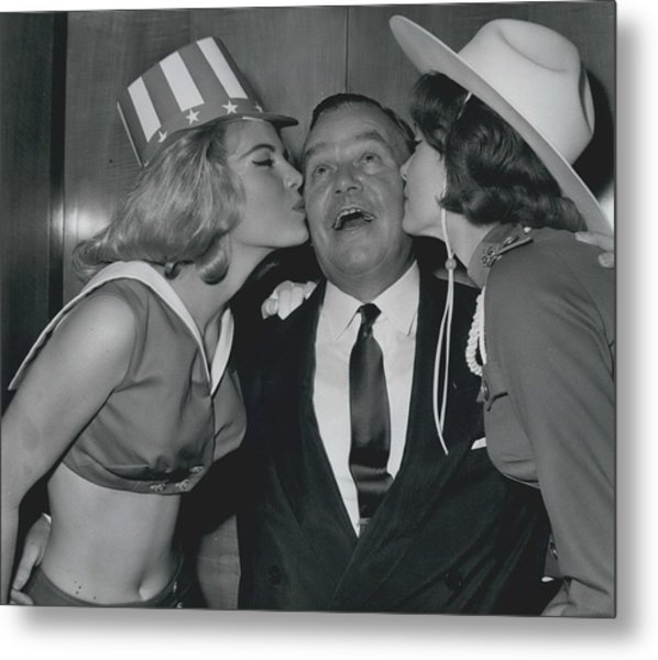 Variety Club Lunch Tribute To Billy Butlin Metal Print by Retro Images Archive