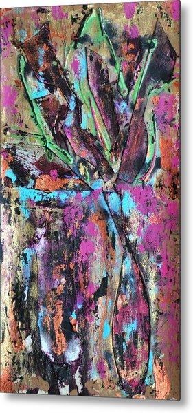 Vase Seven Metal Print