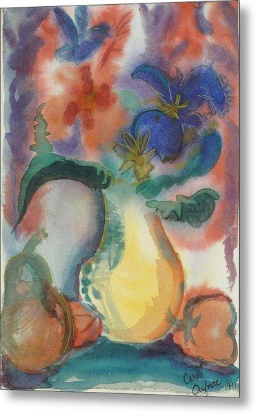 Vase Still Life 1 Metal Print