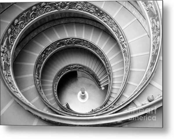 Vatican Spiral Metal Print