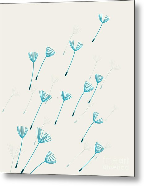 Vector Illustration Background With Metal Print
