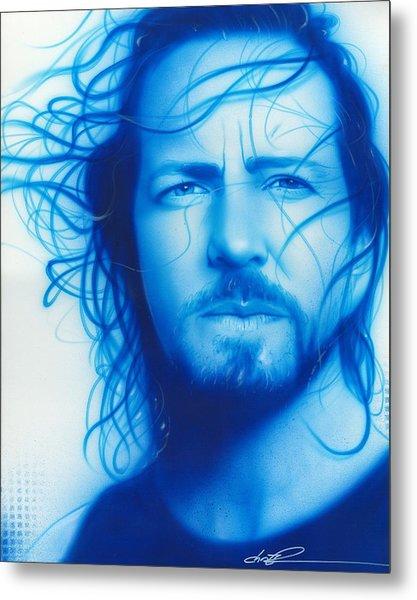Vedder Metal Print