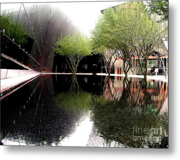 Vegas Reflections Metal Print