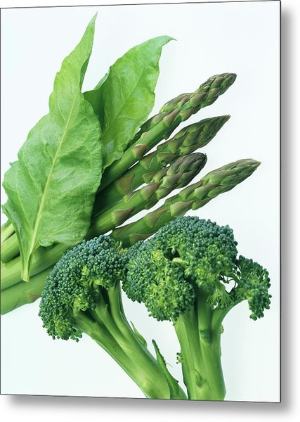 Vegetables Metal Print by Sheila Terry/science Photo Library