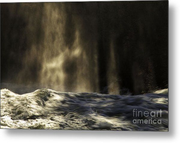 Veil Of Light And Mist Metal Print