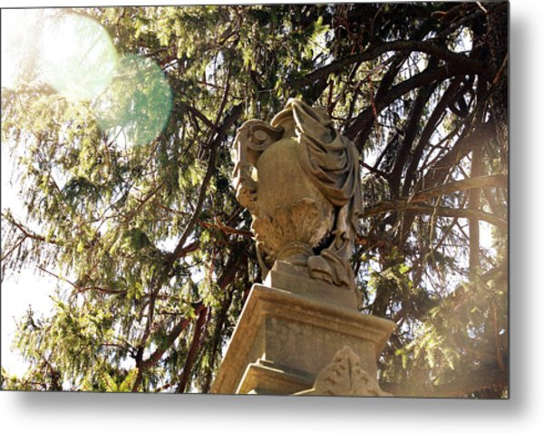 Veiled Urn Metal Print