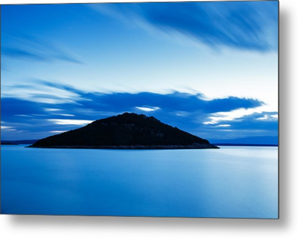 Veli Osir Island At Dawn Metal Print
