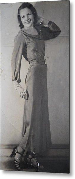 Velma Zerline Russell Metal Print