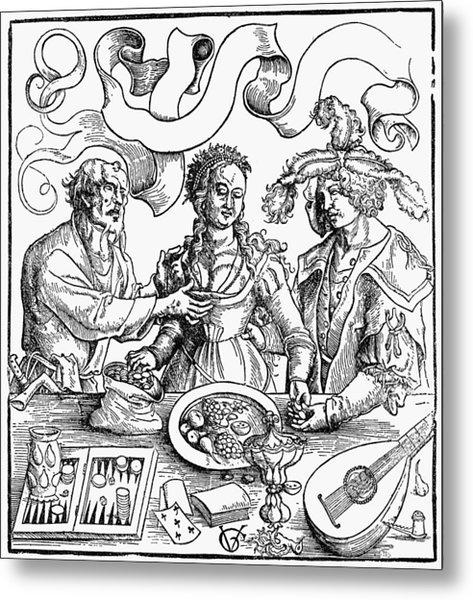 Venal Love, 1511 Metal Print