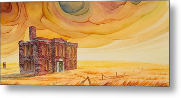 Metal Print featuring the painting Venanda by Scott Kirby