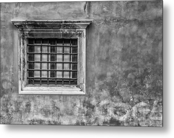 Venetian Window Metal Print
