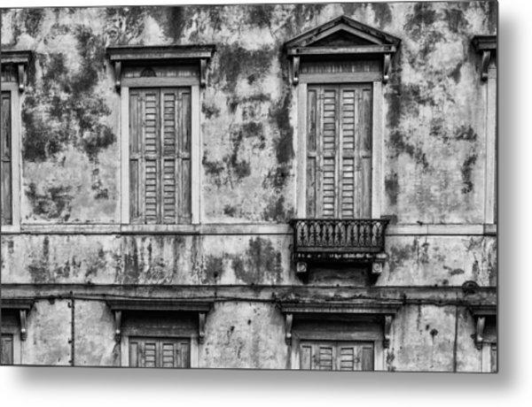 Venetian Windows Metal Print