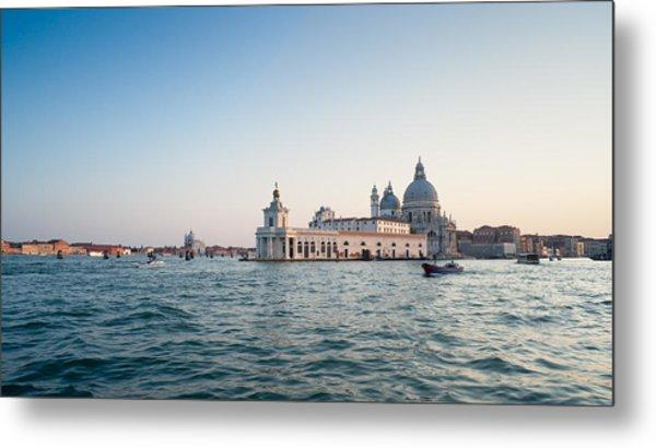 Venice At Sunset. Metal Print