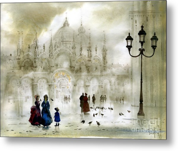 Venice IIi Metal Print by Svetlana and Sabir Gadghievs