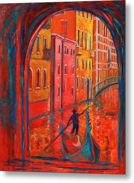 Venice Impression Viii Metal Print