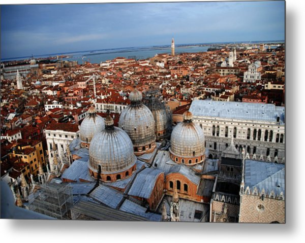 Venice In Glory Metal Print by Jacqueline M Lewis