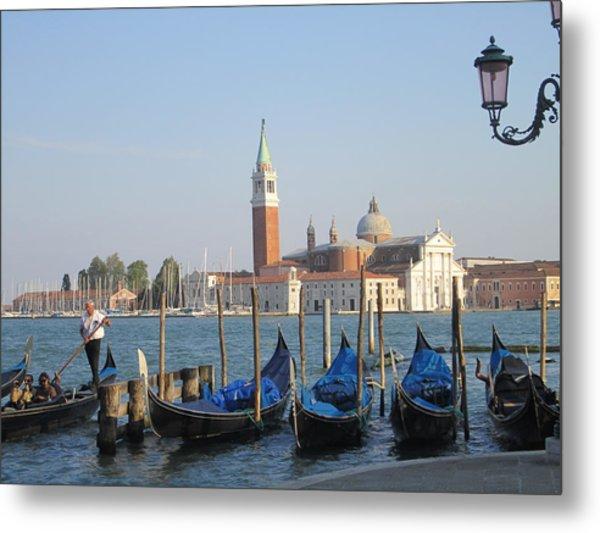 Venice In Springtime Metal Print