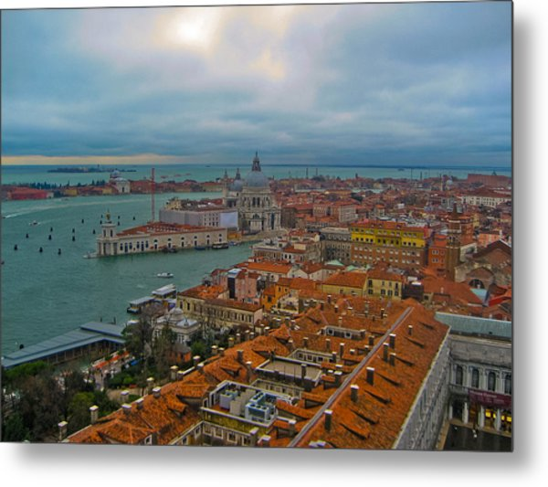Venice Overlook Metal Print